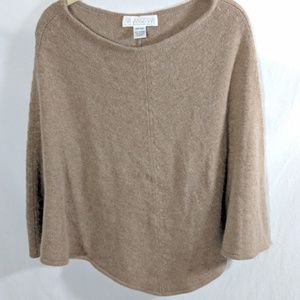 Bloomingdale's Collection Short Cashmere Poncho